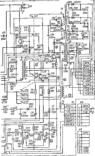 Рис. 20. Принципиальная схема