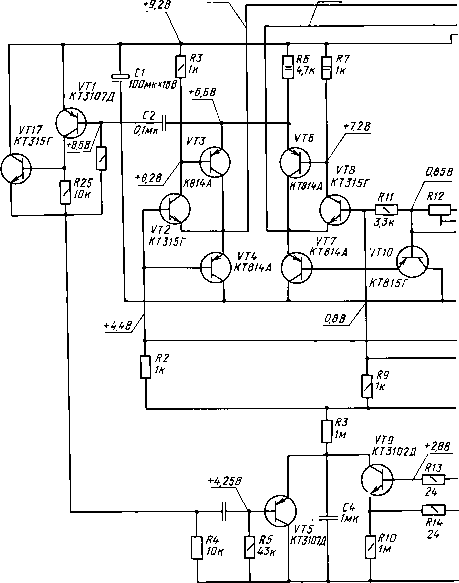 Орель 101 стерео схема