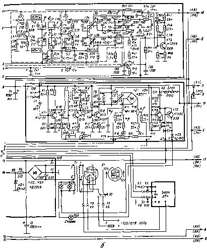 Каскад собран на VT2 по схеме