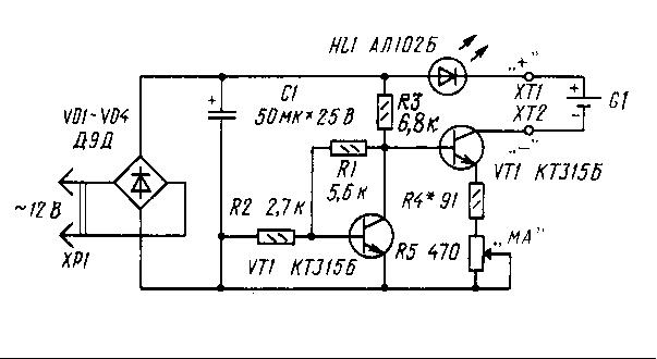 Поскольку напряжение на неинвентирующем входе компаратора da2 т. Конденсатор С5 разрядится через резисторы r9, r10 и...