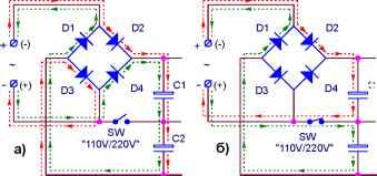 выпрямитель с удвоением напряжения - Практическая схемотехника.