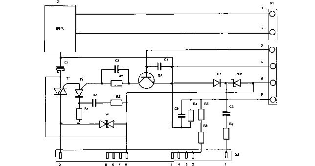 Принципиальная электрическая