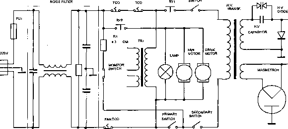 Схема электрическая принципиальная стабилизированного питания.